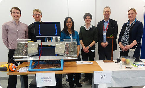Students among hundreds of visitors to Healthcare Science Day event
