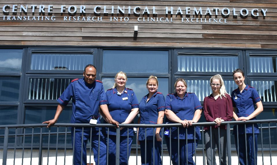 National clinical research award for haematology team