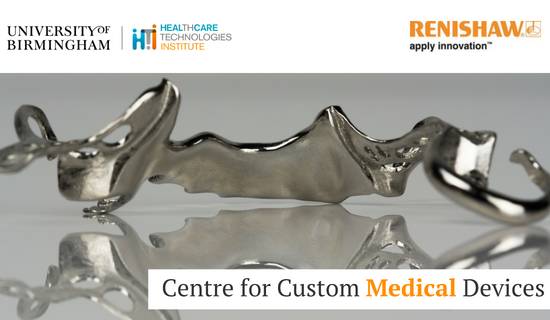 Centre for Custom Medical Devices will create a new generation of 3D healthcare innovations