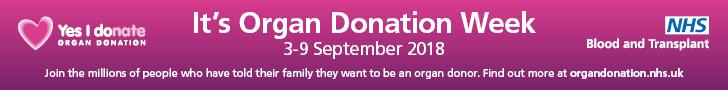 Organ donation week: Birmingham leads the world