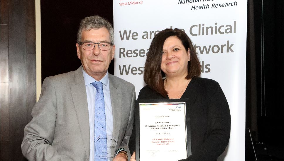 Uhb Are Double Winners At Crn Awards Birmingham Health Partners