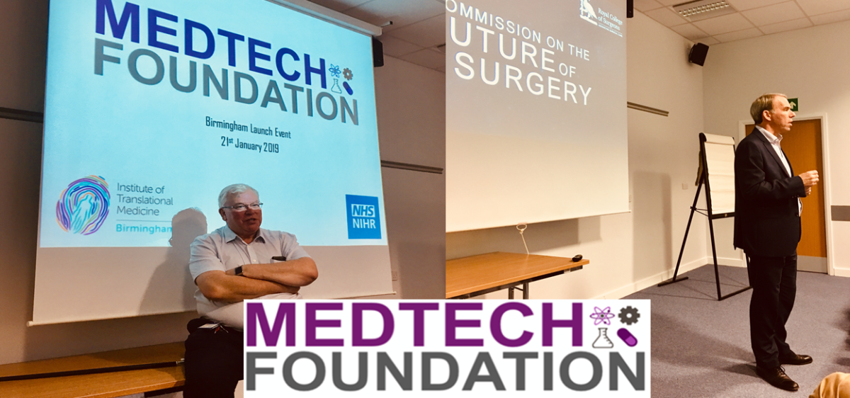 MedTech Foundation arrives in Birmingham