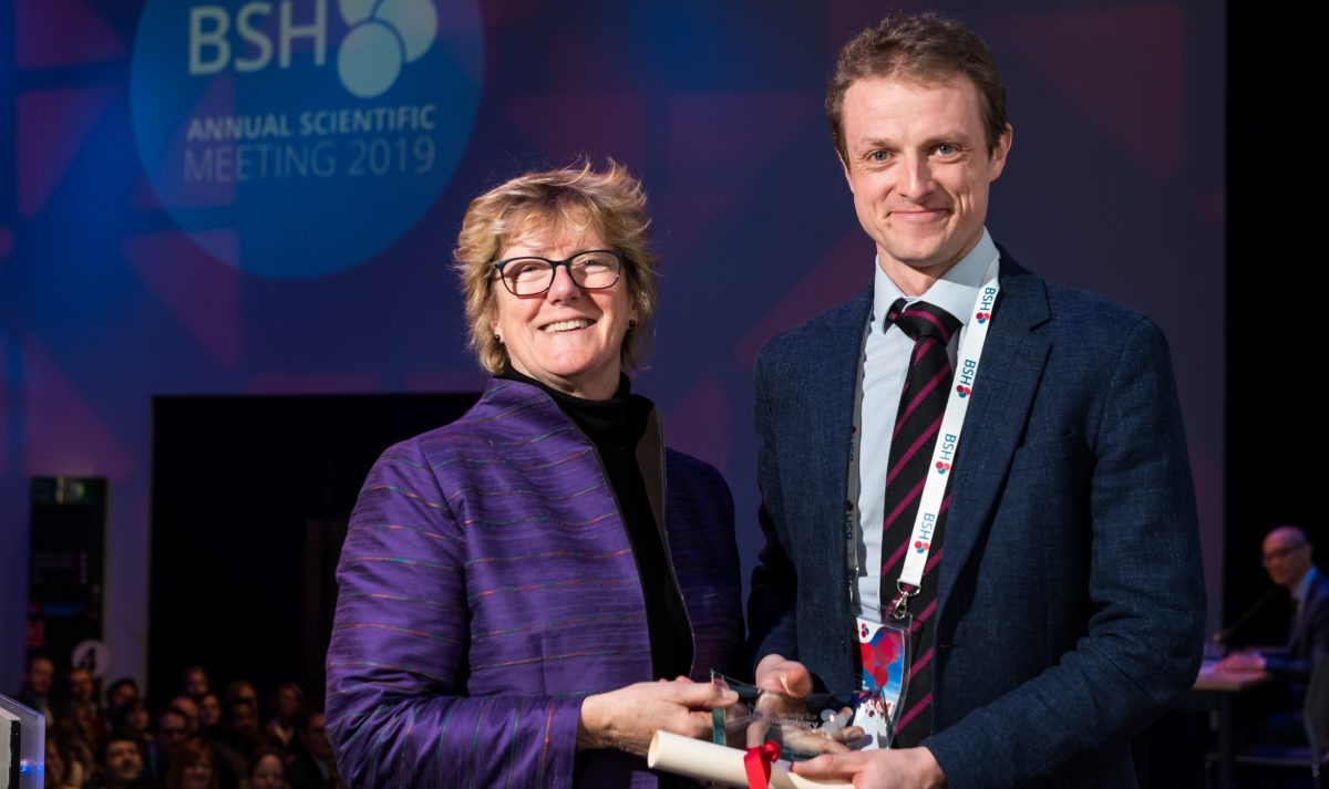 Haematology Lecturer wins Researcher of the Year prize