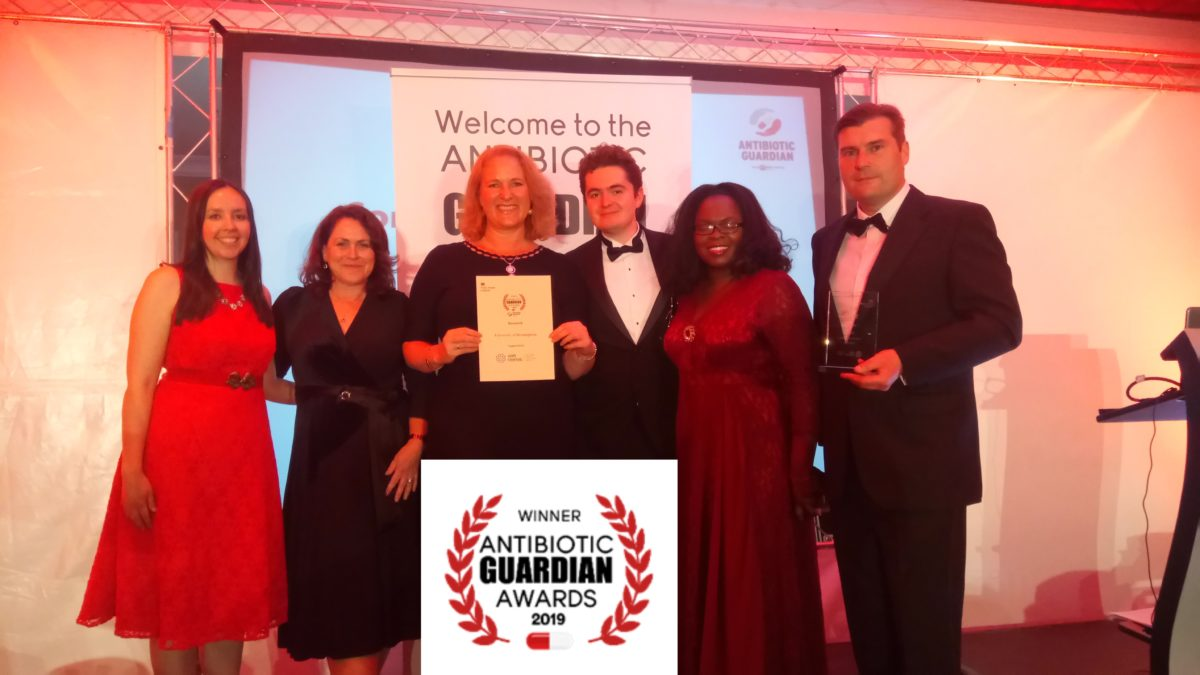 Antibiotic Guardian award for BactiVac