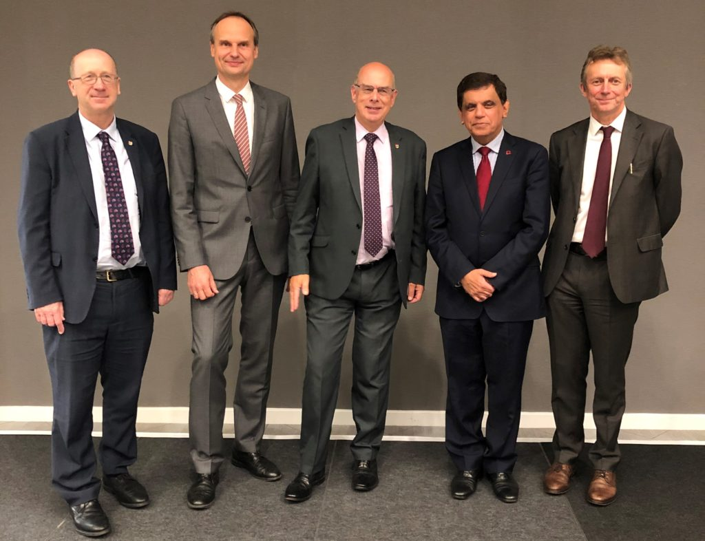 University and BHF Professors launch the award