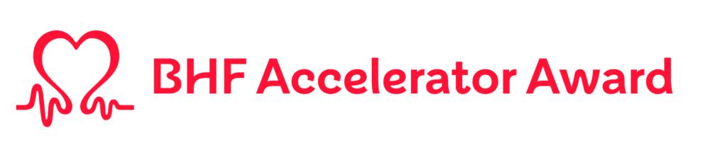BHF Accelerator Award logo