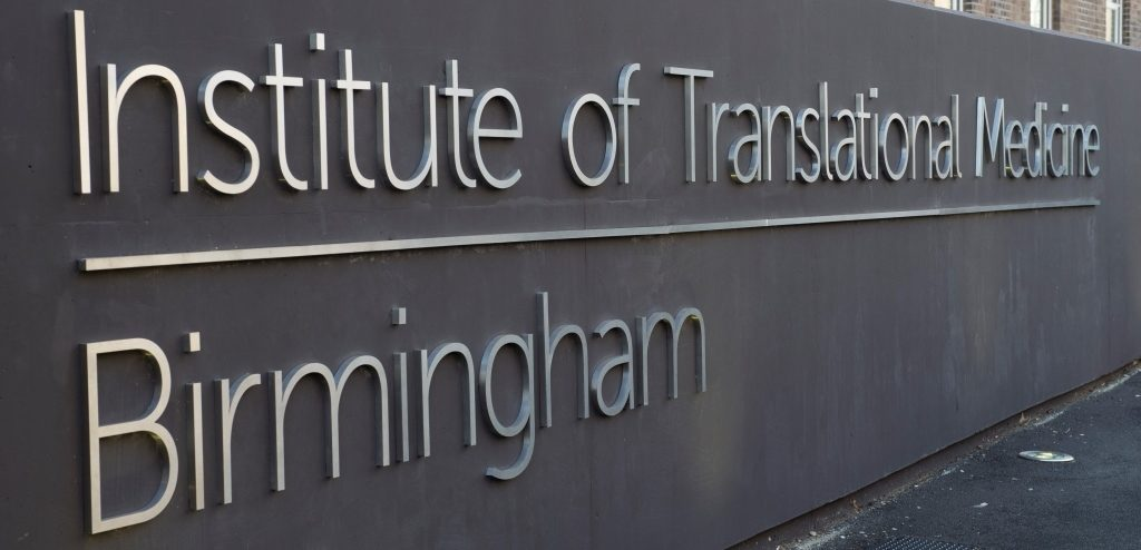 Institute of Translational Medicine - exterior sign