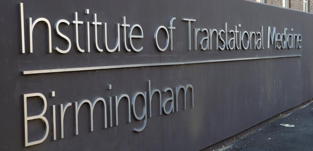 Institute of Translational Medicine - exterior sign