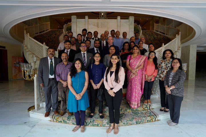 Delhi meeting group shot
