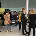 Visitors arrive at the stands at Clean Air for All event