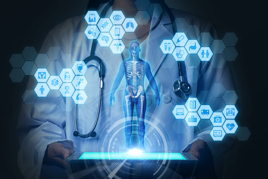 Medical technology concept image