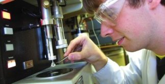 researcher working in BCCT