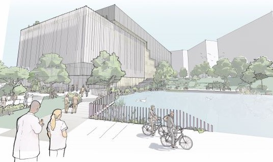 Birmingham Health Innovation Campus - artist impression