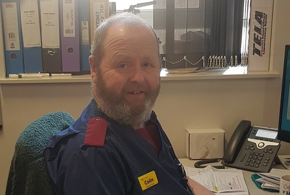 Research Nurse Colin Bergin: a day in the life