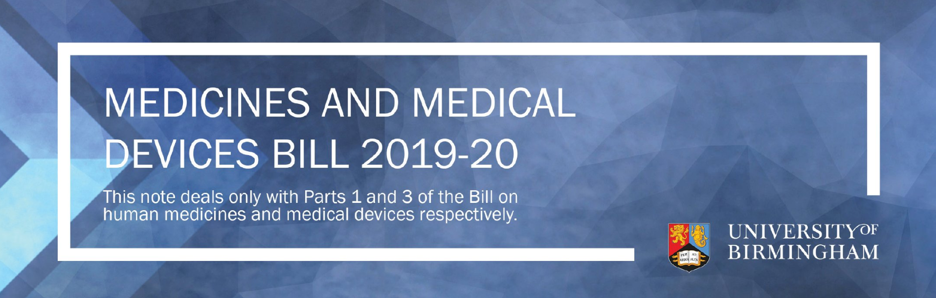 Medicines and Medical Devices Bill - report cover